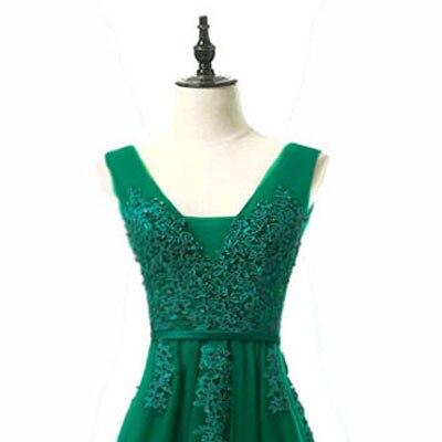 Горячая Распродажа, Коктейльные Вечерние платья, короткое, Vestido de Festa, Мини сексуальное платье с аппликацией, v-образным вырезом, бисером и жемчугом - Цвет: dark green