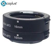 Mcoplus Meike F AF3 Macro Extension Tube Metal AF Adapter For Fujifilm XPro2 XT1 XA2 XE2