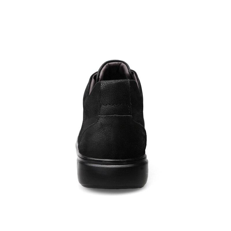 2018 Plus No Véritable Fur Chaussure fur Sneakers De Hommes Neige Clax Taille En Fourrure D'hiver Homme Chaussures Cuir Automne Casual xZXnqRT4w