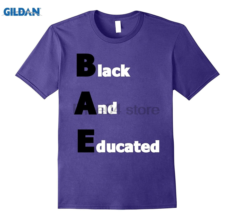 GILDAN BAE Black and Educated Tshirt black pride Tee sunglasses women T-shirt