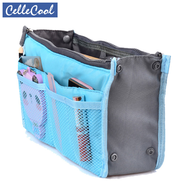 CelleCOOL Zipper Makeup bag Neceseries Cosmetic bag Small Handbag Travel Organizer Storage Bag for toiletries toiletry kit CC001