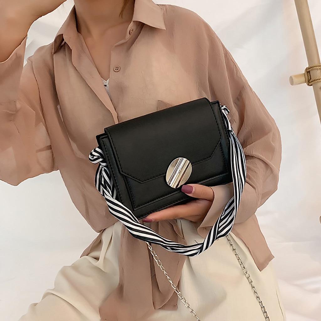 Women Bag Simple Fashion Chain Wild Diagonal Shoulder Small Square Schoudertas Dames Sac A Main Femme De Marque Soldes