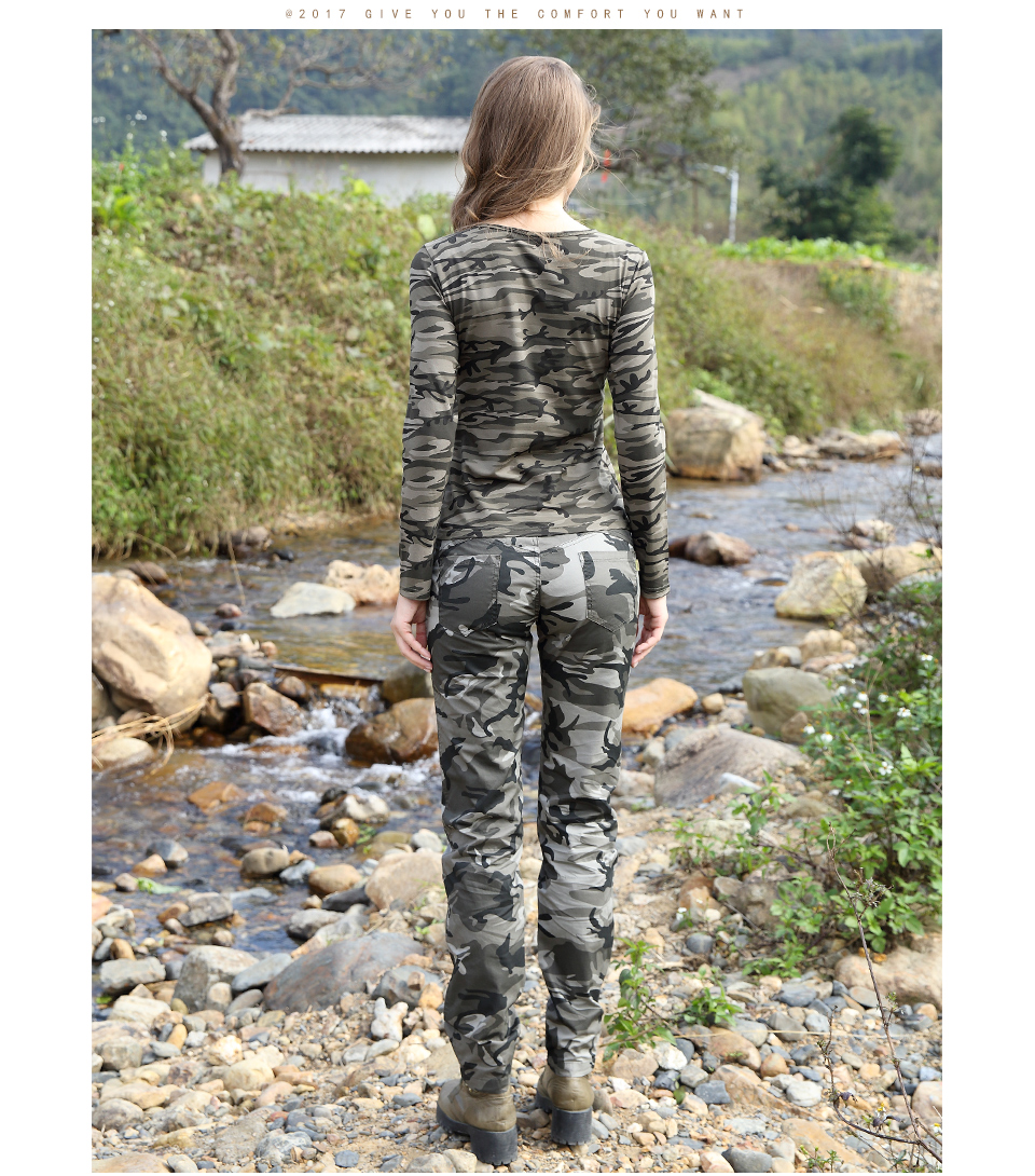 25c2cd5ef3d Detail Feedback Questions about New Pattern Summer Pants Women Camo ...