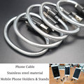 23 cm USB Charger Cable for iPhone 5 5s 6 6s ipad SE Phone Holders & Stands Design Fast Charging cord Phone Cables for Android