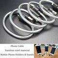 23 cm cabo do carregador usb para iphone 5 5s 6 6 s ipad SE Telefone Holders & Stands Design Rápido cabo De Carregamento Cabos de Telefone para Android