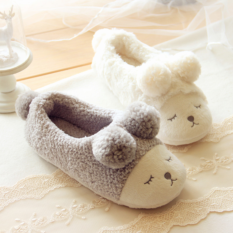New Winter Home Slippers Women House Shoes For Indoor