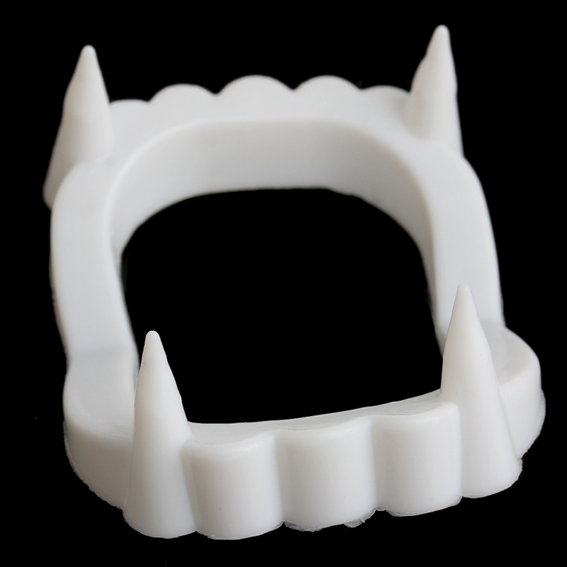 Vampire Dracula Teeth Halloween Monster Werewolf Zombie Fangs Halloween Party