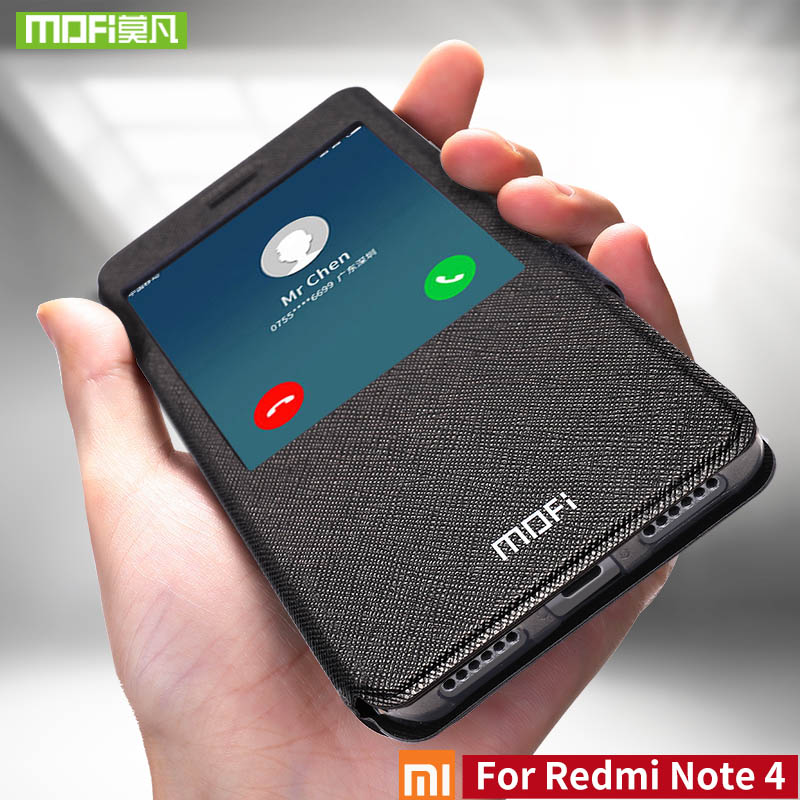 For Xiaomi redmi Note 4 case For Xiaomi redmi Note 4 case global version mofi cover silicon flip 360 for xiaomi redmi Note4 case
