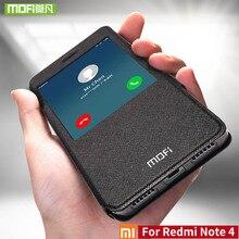 Para Xiaomi redmi Nota 4 caso Para Xiaomi redmi Nota 4 caso versión global mofi tirón de la cubierta del silicio 360 para xiaomi redmi caso Nota4