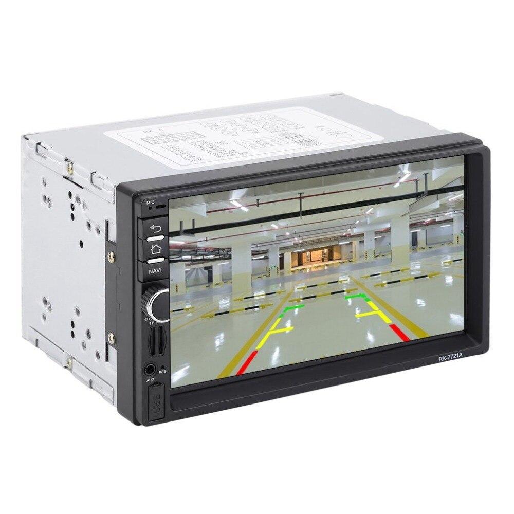 Профессиональный 7 дюймовый HD 1024*600 емкостный экран 7 Цветной световой функция Автомобильный плеер Европейская Карта - 6