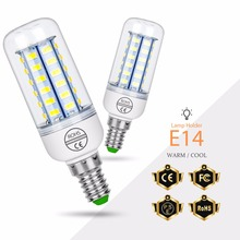 GU10 LED Lamp 220V Corn Lamp E27 LED Bulb 5730SMD bombilla E14 Candle Light Bulb B22 24 36 48 56 69 72LEDS Chandelier Lighting e27 corn bulb gu10 led 220v bulb b22 bombillas led lamp e14 chandelier candle light 24 36 48 56 69 72leds home lighting 5730smd