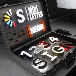Популярные 3D из нержавеющей стали светодиодный канал письмо магазин знак