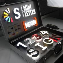 Popularne 3D ze stali nierdzewnej doprowadziły litery kanałowe sklep znak tanie tanio shsuosai