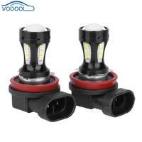 2Pcs 9005 3030 36SMD 6500K White LED Car Fog Light Lamp 18W High Power Automobile Headlamp