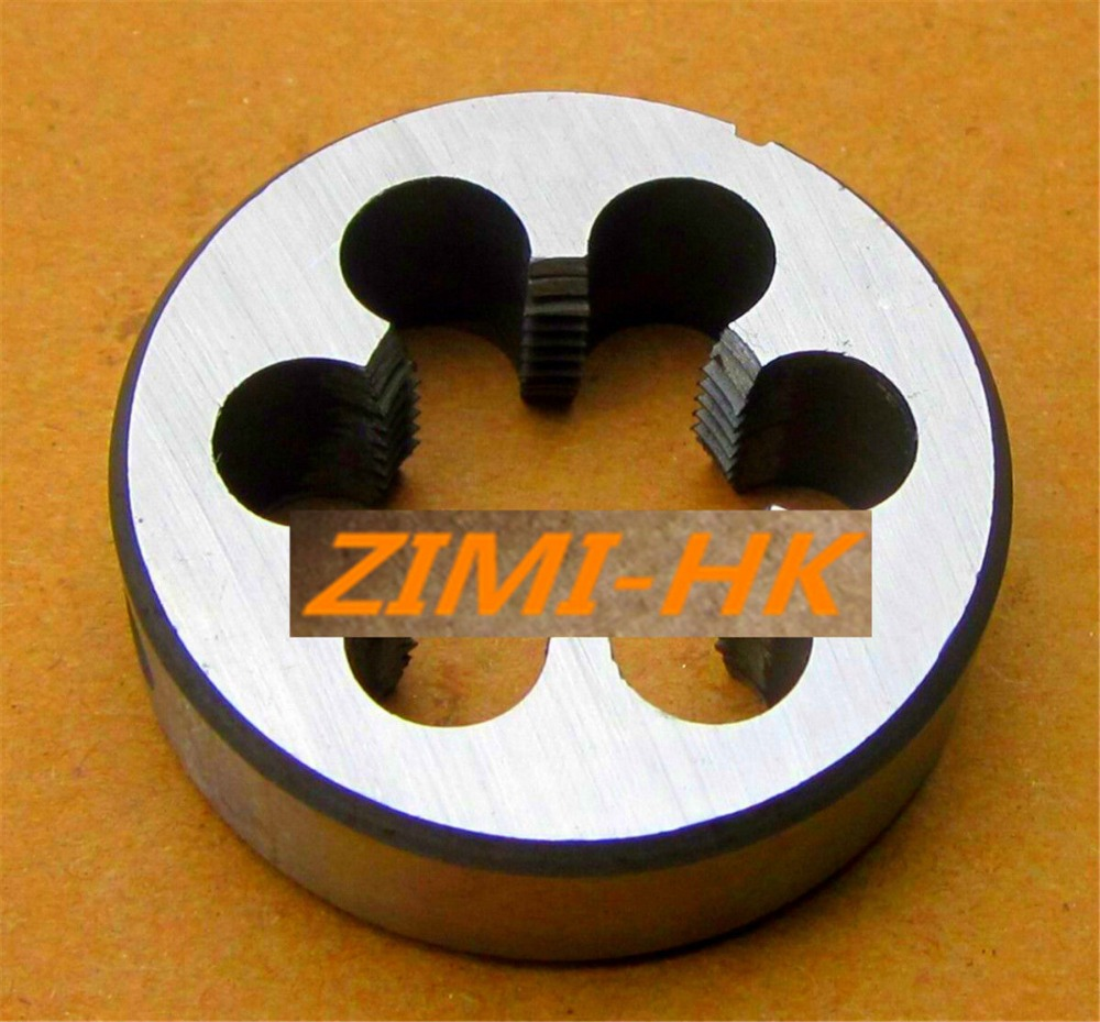 (1pcs) 17mm X 1.25 Metric Right Hand Die M17 X 1.25mm/M17*1.25 Pitch (The High Quality )