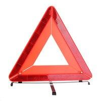NEW Car Auto Emergency Tripod Red Reflector Warning Triangle Mirror Roadway Safety Traffic Signal