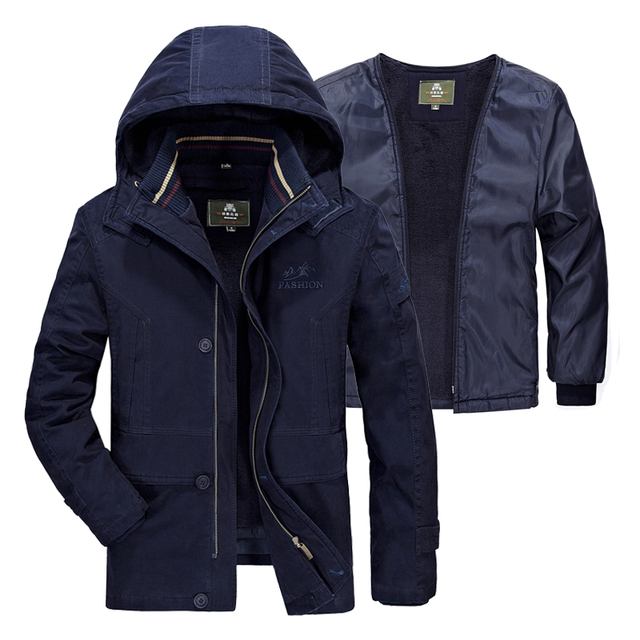 Veste Coupe 5xl Doublure Russie Hiver Amovible Hommes Marque Polaire fbgy6Y7