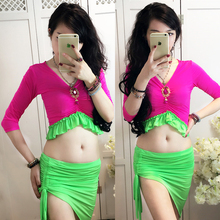 Belly dance eastern diamond embroidery skirts bra dress costume for oriental dance dancing belt for belly dancing suit set 844