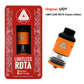 100% Original IJOY Limitless RDTA Classic Edition Atomizer 6.9ml Large Capacity Side Filling Rebuildable Dipping Tank Atomizer