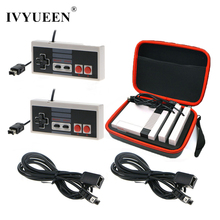 IVYUEEN Travel Storage Bag Case for NES Mini Classic Edition Console + Gamepad + 1.8 m Controller Extensive Cable Cord
