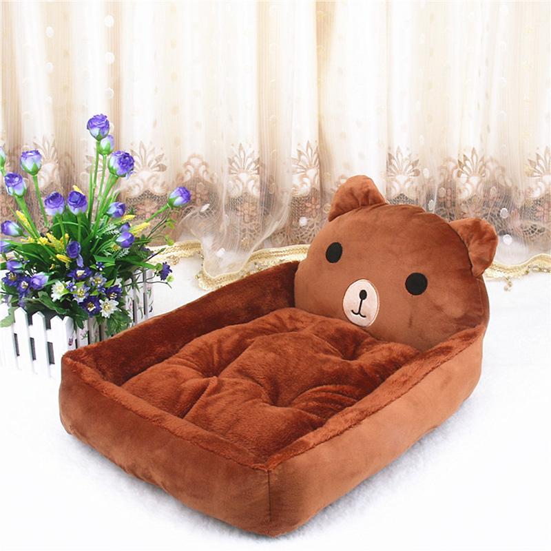 PP Cotton Kennels Cat House Dog Pad Teddy Mats Big Blanket Supplies Cute Pet Dog Bed Mats Animal Cartoon Shaped Pet Sofa Kennels 10