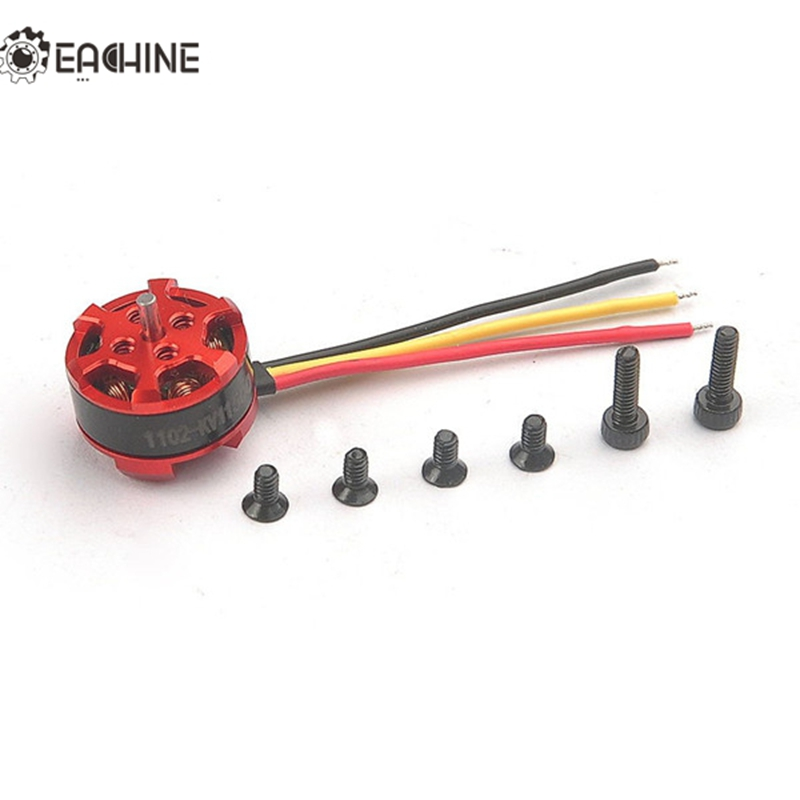 купить High Quality Eachine 1102 11500KV 1-2S Brushless Motor for Aurora 68 Mini Racing Drone RC Mutlicopter недорого