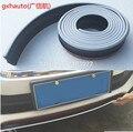 Новый резиновый 3 цвета Гибридный Бампер полоса автомобиля 2 5 м длина внешний передний бампер губ комплект/Автомобильный бампер полоса Унив...
