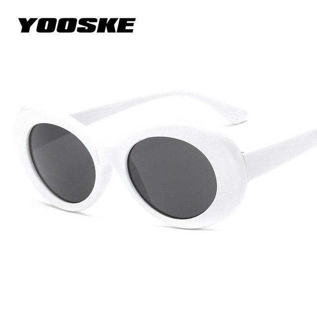 5168fdfbed YOOSKE Clout Goggles NIRVANA Kurt Cobain Round Sunglasses For Women Men  Brand Designer Glasses Retro Sun