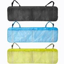 Car Back Seat Organiser Auto Travel Multi-Pocket Holder Pouch Storage Bag Black Green Blue 3 Color