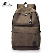 Męski plecak płócienny mężczyzna na laptopa studentka szkoły torby dla nastolatków rocznika Mochila plecak plecak turystyczny