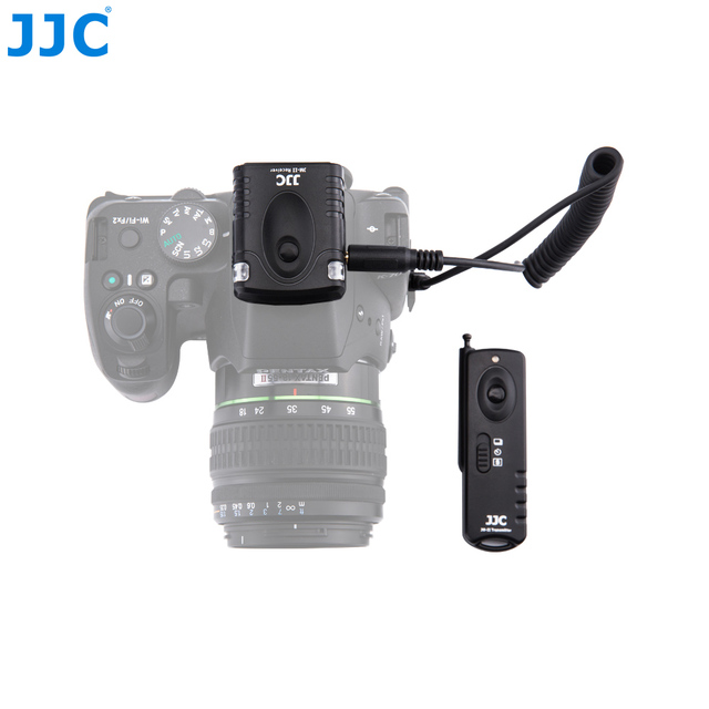 JJC 16 Radio Channel 433MHZ RF Wireless Remote Controller for PENTAX CS-310 Compatible Cameras KP,K-70