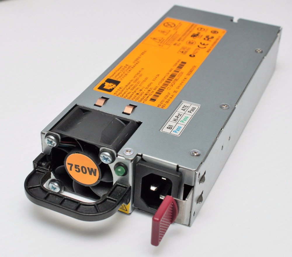 506821-001 506822-001 511778-001 DPS-750RB A 750W Server Power Supply For DL360 G6 DL380 G6