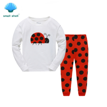 samll shell 2016 winter autumn style children kids clothing sets baby girls clothes suits leisure wear beatles printing F0067