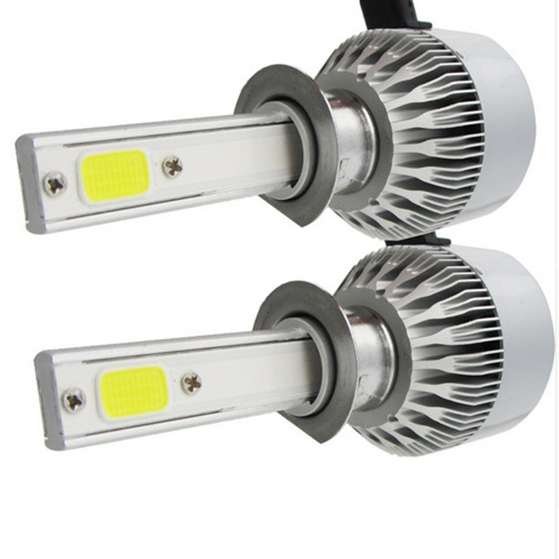 table 2.5A/12V Output COB 9004 LED Headlight Kit Adjustable 360 Angle for Dipped Beam Ma ...