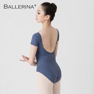 Image 5 - Leotardos de Ballet para las mujeres Yoga baile Sexy formación profesional gimnasia Impresión Digital impresión Leotardos de baile de pescado de belleza de 5648