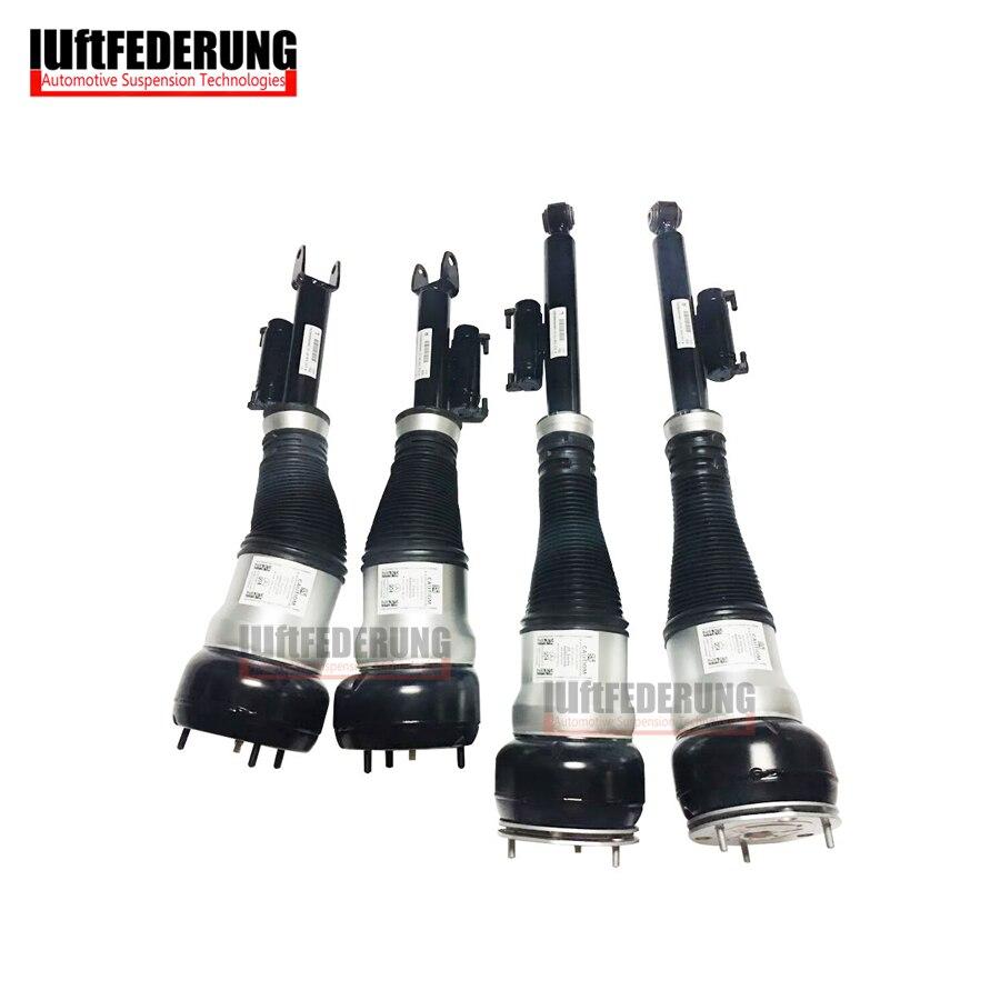 Luftfederung Mercedes W222 4 MATIC 2 stücke Hinten + 2 stücke Vorderradaufhängung Luftfeder Luftfederbein 2223205213 (313) 2223204813 (713)