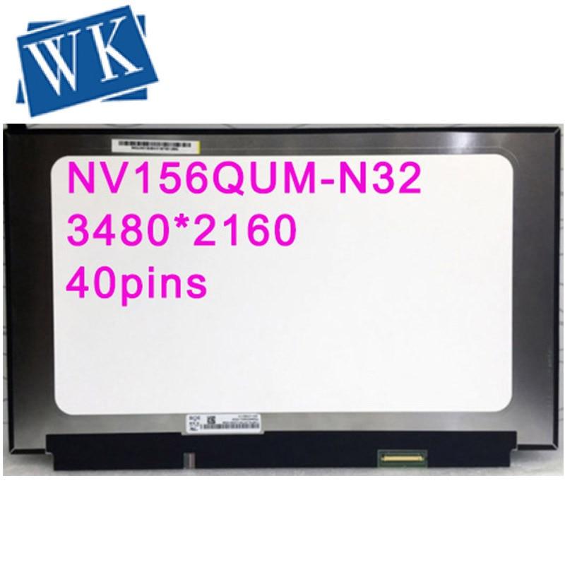 Panneau pour BOE NV156QUM-N32 NV156QUM N32 IPS Marix pour ordinateur portable 15.6