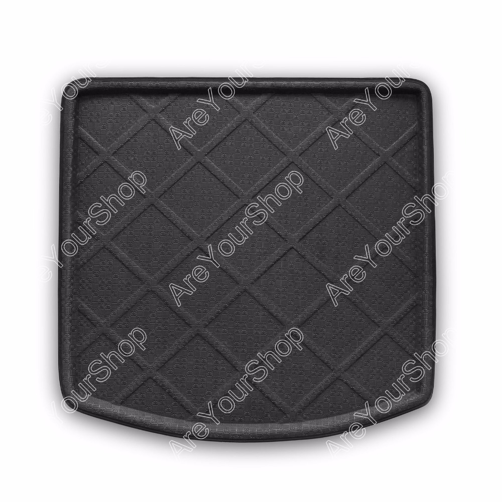 Car Auto Cargo Mat Boot liner Tray Rear Trunk Stickers Dog Pet Covers For Volkswagen TOURAN 2011 2012 2013 Car-Covers Stickers car rear trunk security shield shade cargo cover for nissan qashqai 2008 2009 2010 2011 2012 2013 black beige