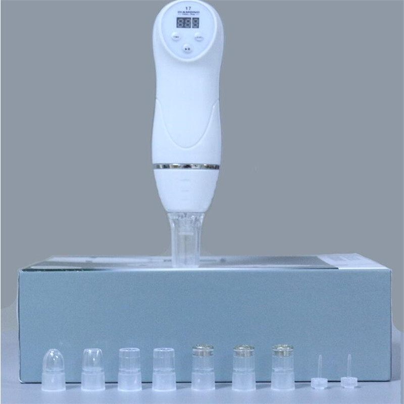 Купить с кэшбэком Electric Facial Skin Cleaner Tool Vacuum Suction Blackhead Microcrystalline Grinding Acne Comedo Remover Pore Face Cleaning skin
