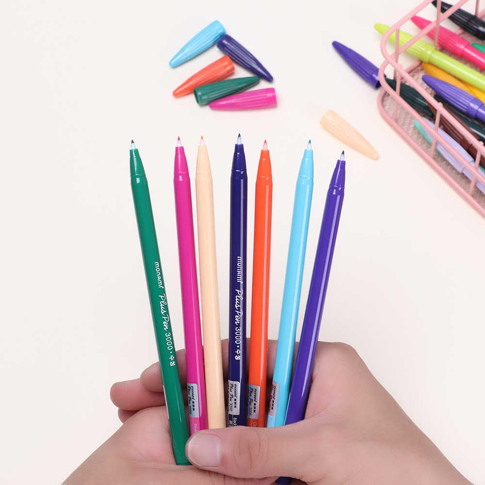 24 color Gel pens Monami plus pen Korean Stationery Gift Office Material Diary Decor Hand Painted Watercolor Pen school supplies
