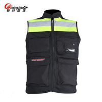 2018 New Riding Tribe Cross Country Motorcycle Reflective Vest Motorbike Riding Clothes Knight Safety Jacket Made