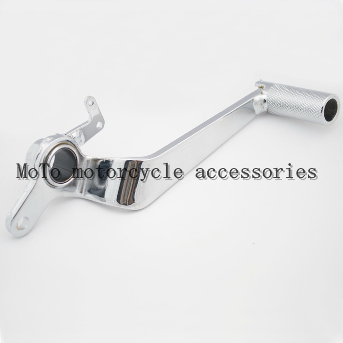 NEW Chromed Rear Brake Lever Pedal For CB400 SF 1994 1995 1996 1997 1998 Motorcycle Rear Brake Lever Pedal forged rear foot brake pedal lever for yamaha yz125 yz250 1997 2016 yz250x 2016 yz250f 2000 2005 yz400f 1998 1999 new