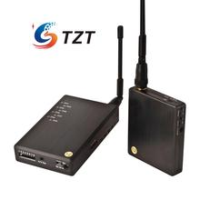 1.2G 700mW Wireless Audio Video AV Transmitter Receiver System Transceiver Telemetry Monitoring Set for FPV