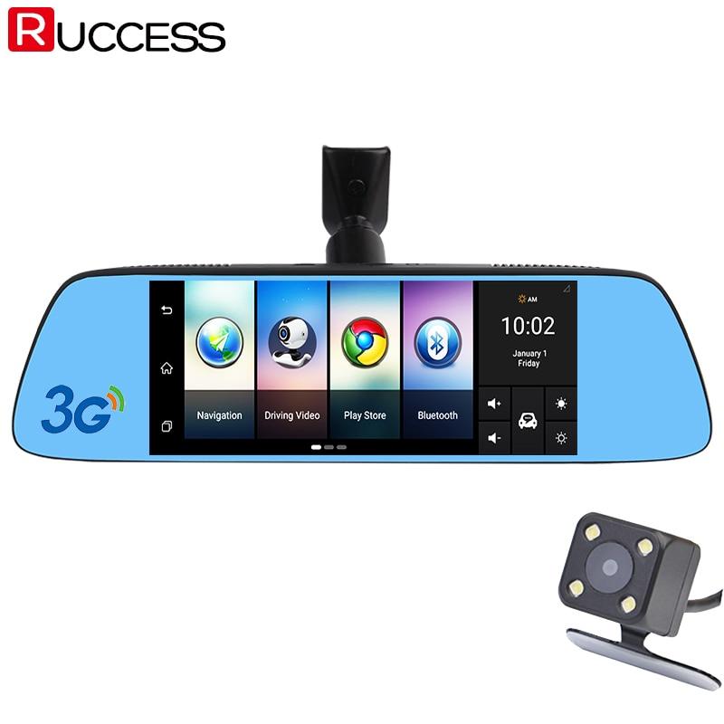 """imágenes para Ruccess 7 """"3G Especial Espejo Retrovisor Coche DVR DVRs Cámara Android 5.0 Con GPS de Navegación de Automóviles Grabador de Vídeo Dash Cam"""