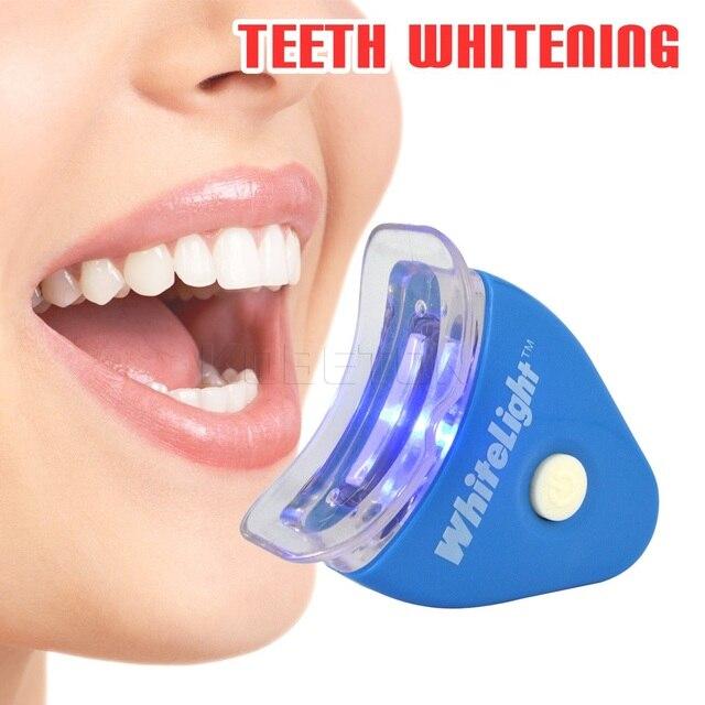 Professional Teeth Whitening Kit White Led Light Blanqueador