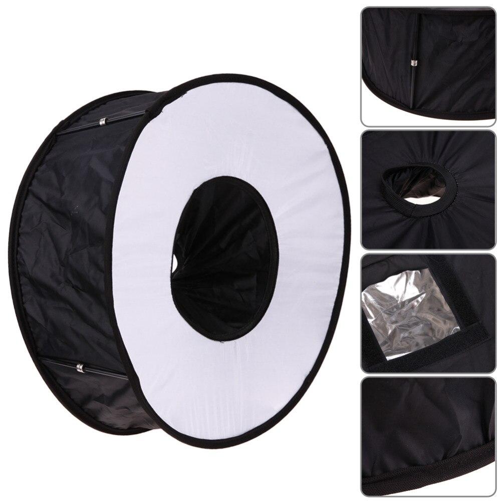 Speedlite Softbox Blitzlicht Weiche Box 45 cm Faltbare für Canon Nikon Blitzgerät Drop Verschiffen