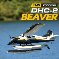 FMS 2000mm 2.0m (78.7) Beaver DH 2 Water Sea Plane Gaint Model Hobby Aircraft Avion PNP with Flaps Retracts(floats Optional)
