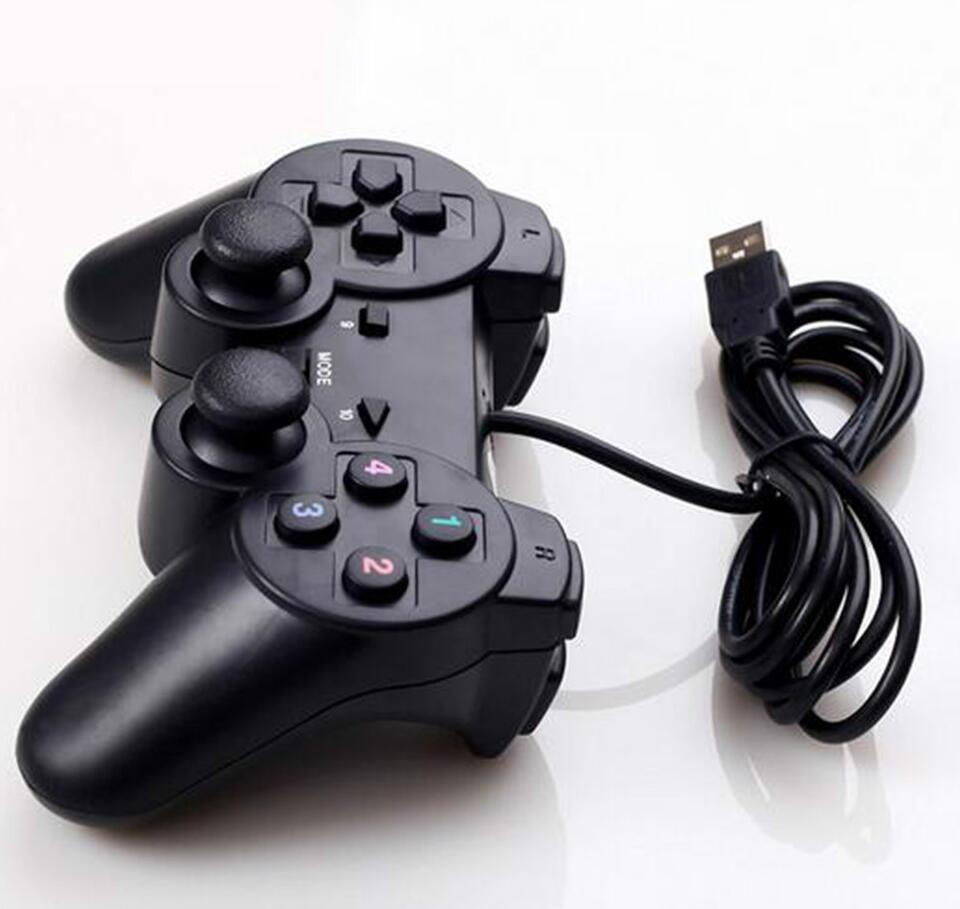 2019 Gamepad 208 USB Wired Handle PC Game Controller for ps2 in Gamepads from Consumer Electronics