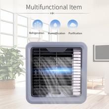 Портативный мини-вентилятор кондиционера, охладитель для личного пространства, быстрый и простой способ охлаждения любого пространства, домашний офисный стол, вентилятор воздушного охлаждения