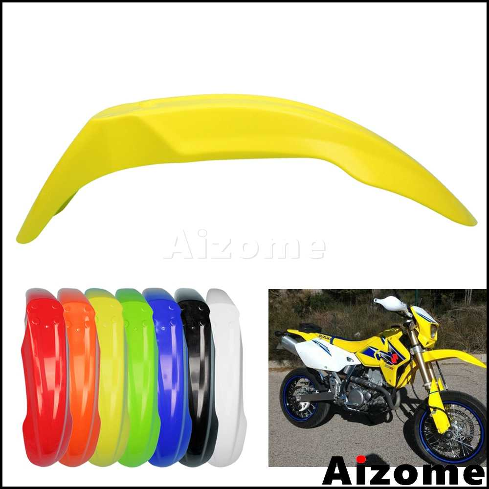Detail Feedback Questions about Universal Dirt Bike Yellow